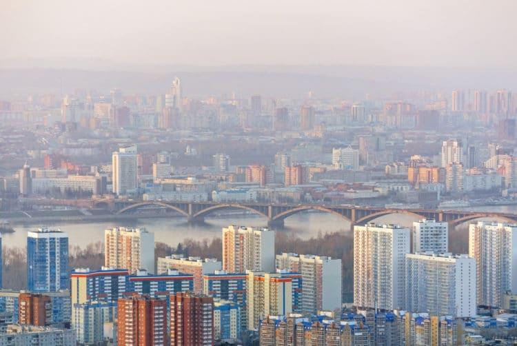 Самые красивые города России - Красноярск