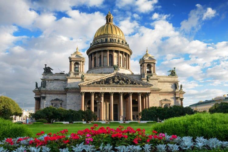 Исаакиевский собор - достопримечательности Санкт-Петербурга