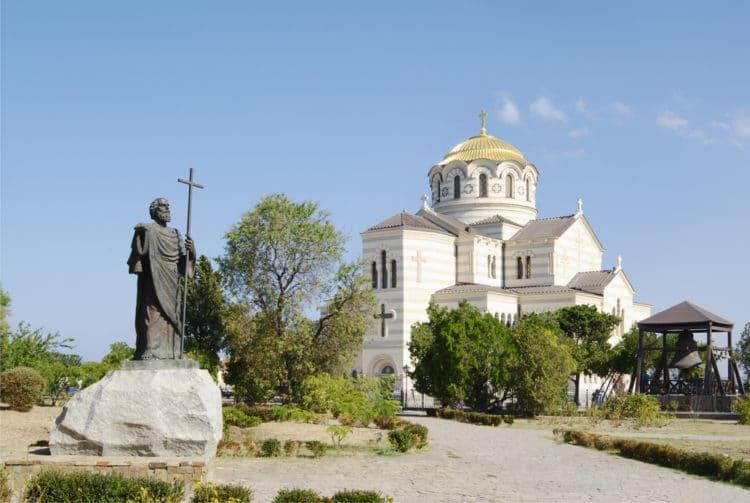 Владимирский собор в Херсонесе - достопримечательности Севастополя