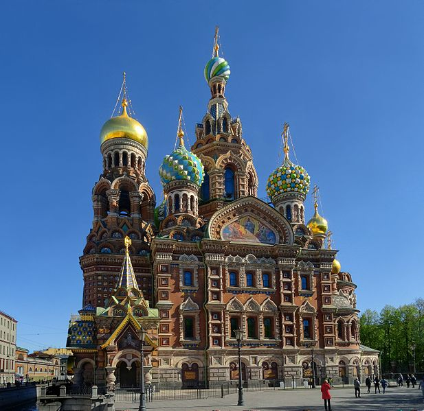 Храм Спаса-на-Крови - достопримечательности Санкт-Петербурга