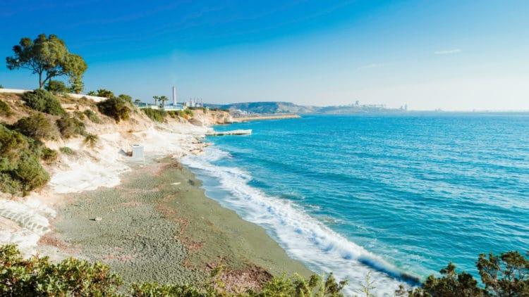 Губернаторский пляж - достопримечательности Лимассола
