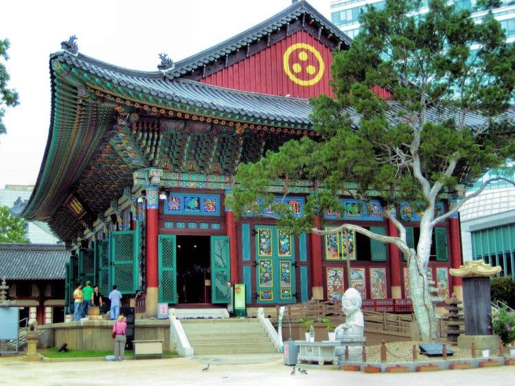 Храм Чогеса - достопримечательности Сеула