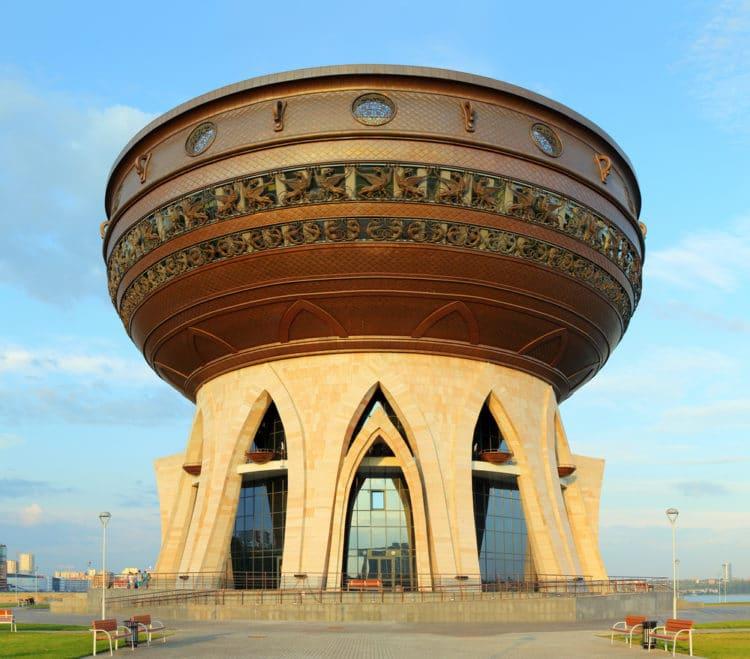 Центр семьи «Казан» - достопримечательности Казани
