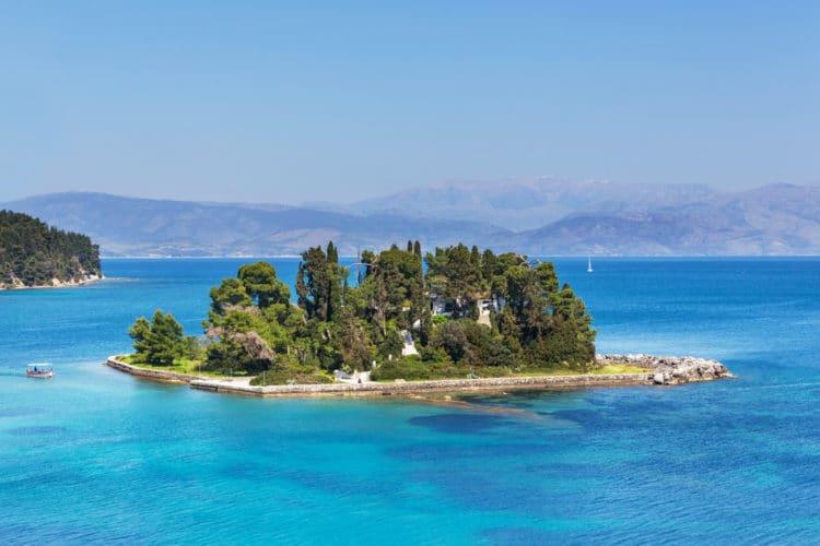 Мышиный остров - достопримечательности Корфу