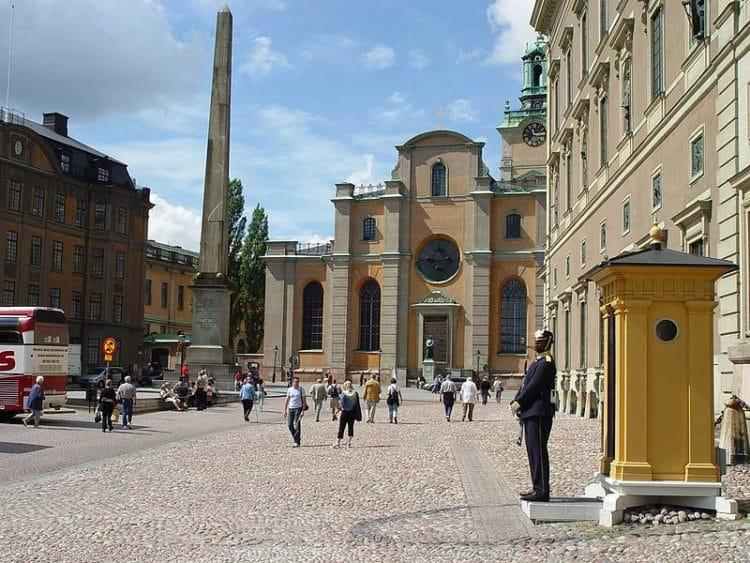 Церковь Святого Николая - достопримечательности Стокгольма