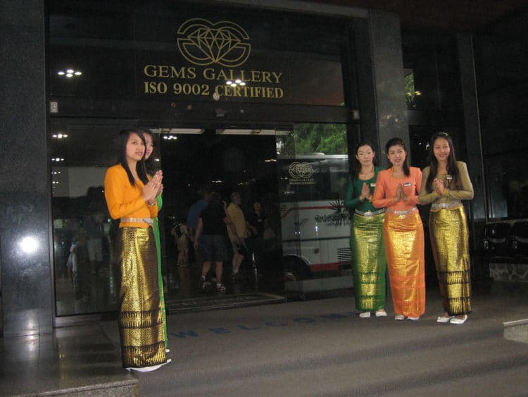Ювелирная фабрика «Gems Gallery» - достопримечательности Паттайи
