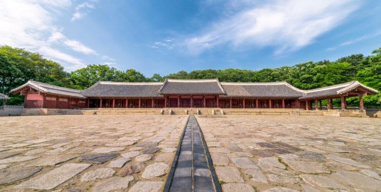 Святилище Чонмё - достопримечательности Сеула