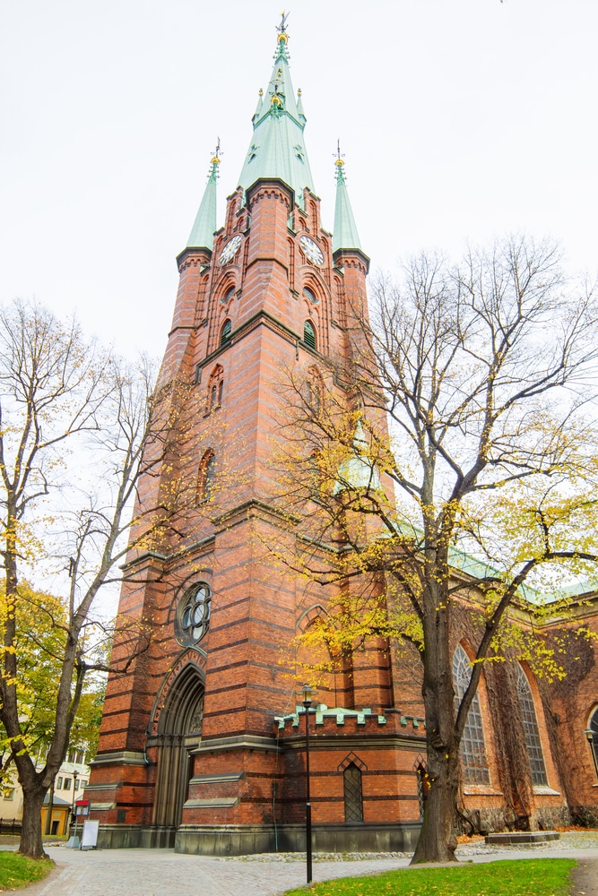 Церковь Святой Клары - достопримечательности Стокгольма