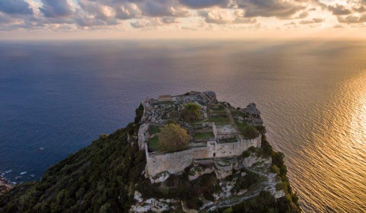 Крепость Ангелокастро - достопримечательности Корфу