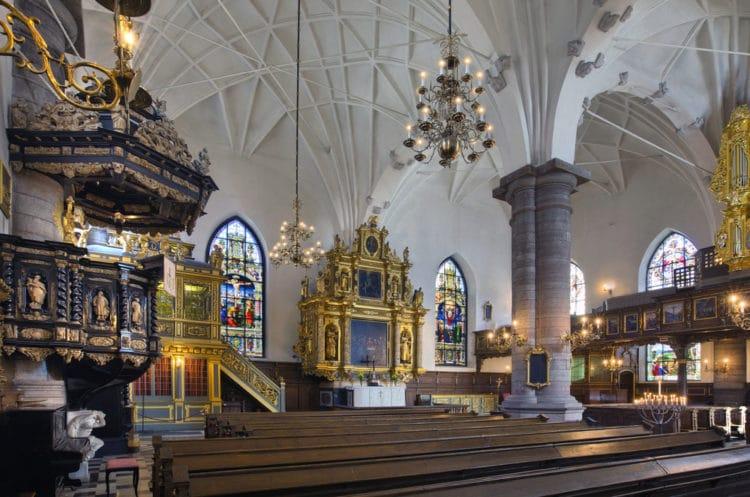Немецкая церковь - достопримечательности Стокгольма