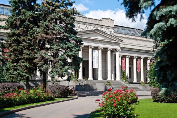Музей изобразительных искусств имени Пушкина - достопримечательности Москвы