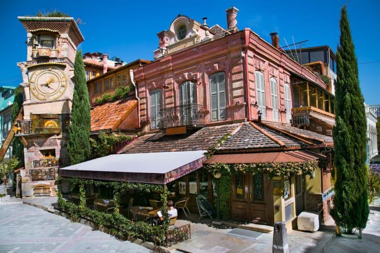 Театр марионеток Резо Габриадзе - достопримечательности Тбилиси