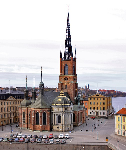 Церковь Риддархольмена - достопримечательности Стокгольма