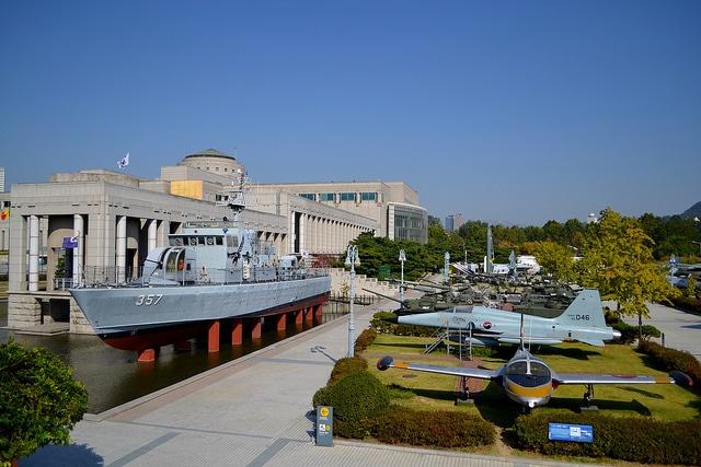Военный мемориал Республики Корея - достопримечательности Сеула