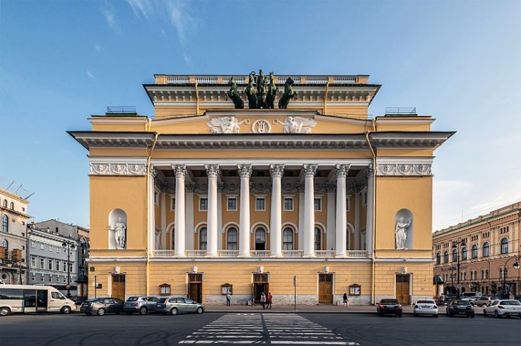 Александринский театр - достопримечательности Санкт-Петербурга