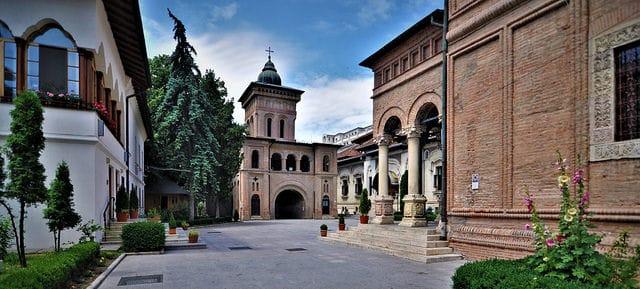 Монастырь Антим - достопримечательности Бухареста
