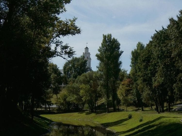 Парк имени Фрунзе - Что посмотреть в Витебске