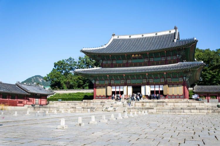 Дворец Чхандоккун - достопримечательности Сеула
