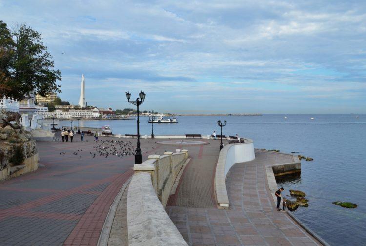 Приморский бульвар - достопримечательности Севастополя