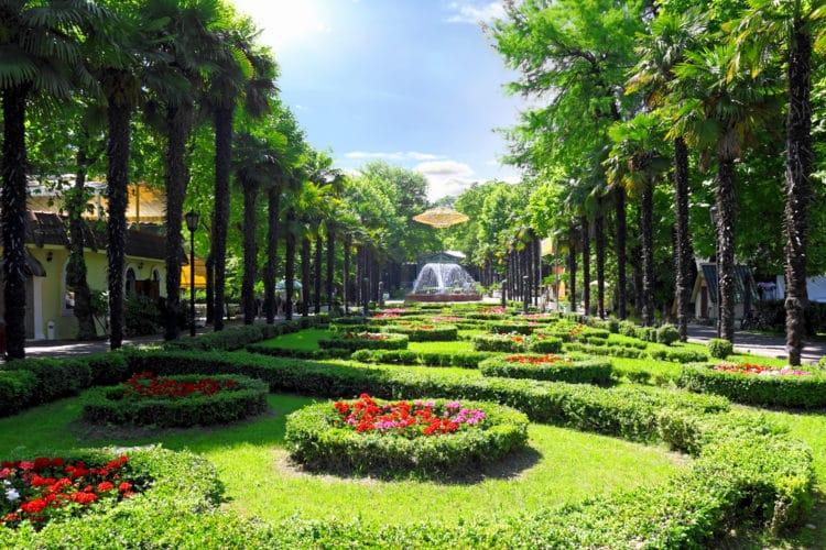 Парк Ривьера - достопримечательности Сочи