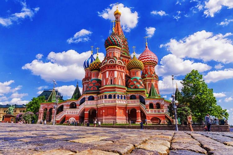 Храм Василия Блаженного - достопримечательности Москвы