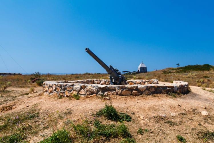 «35-я береговая батарея» - достопримечательности Севастополя