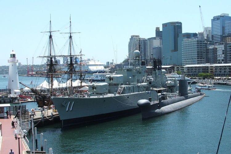 Австралийский национальный морской музей - достопримечательности Сиднея