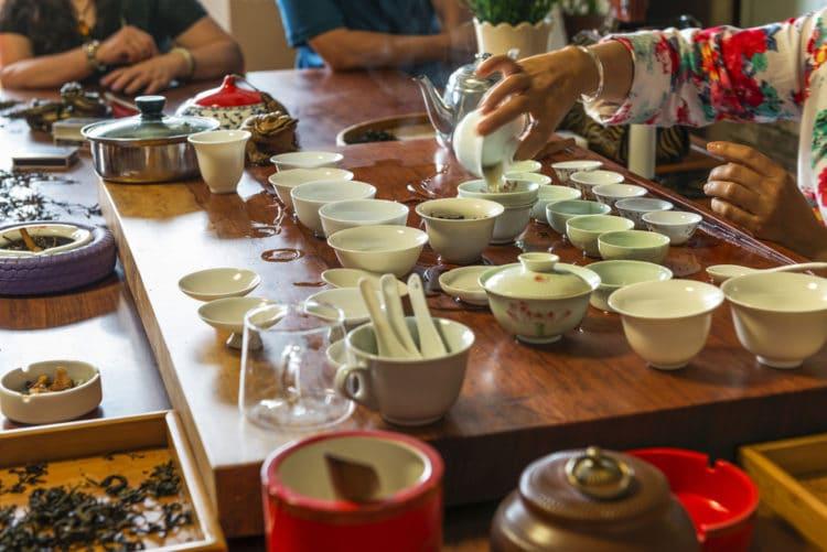 Китайская чайная церемония - достопримечательности Хайнаня