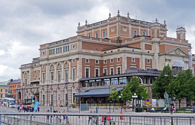 Королевская опера - достопримечательности Стокгольма