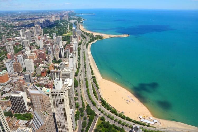 Озеро Мичиган - достопримечательности Чикаго