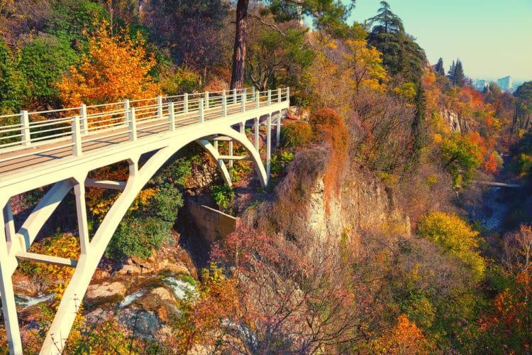 Тбилисский ботанический сад - достопримечательности Тбилиси
