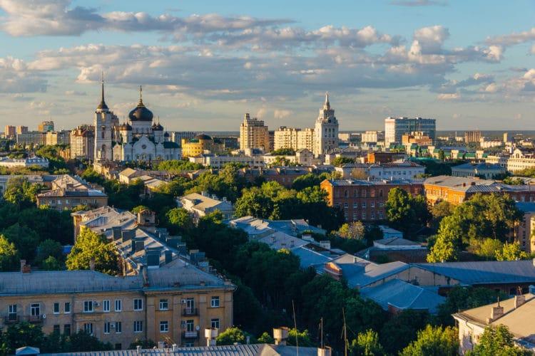 Самые красивые города России - Воронеж