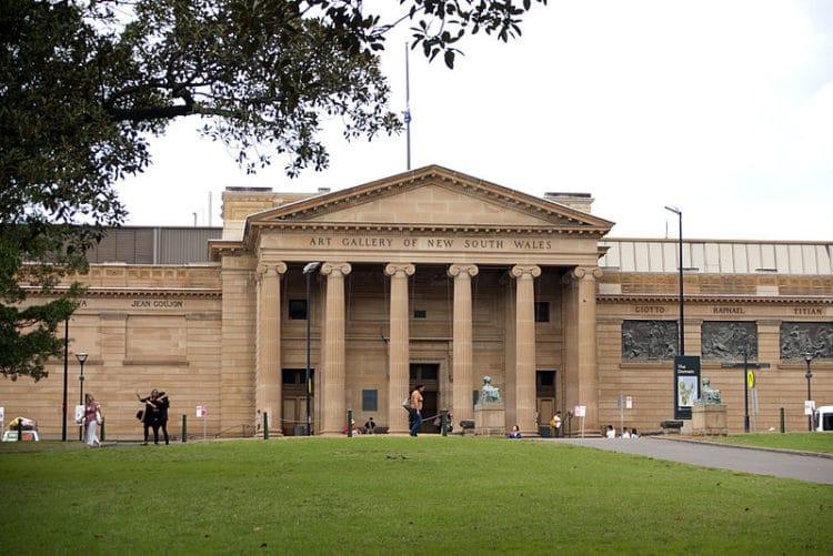 Художественная галерея Нового Южного Уэльса - достопримечательности Сиднея
