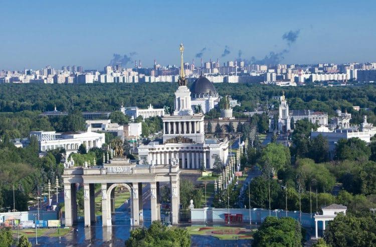 ВДНХ (ВВЦ) - достопримечательности Москвы