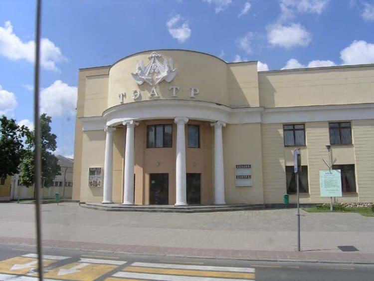 Брестский академический театр драмы - достопримечательности Бреста