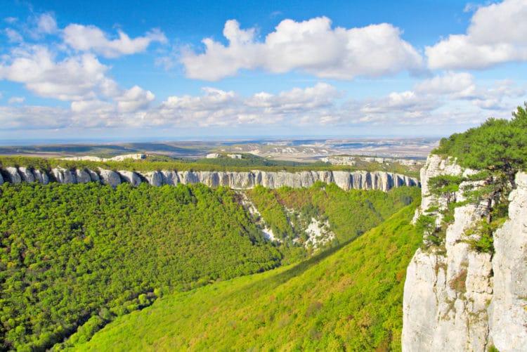 Большой каньон Крыма - достопримечательности Крыма
