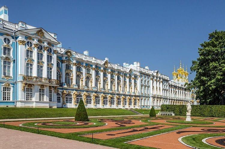 Большой Екатерининский дворец - г. Пушкин - достопримечательности Санкт-Петербурга