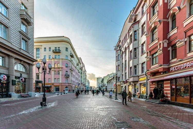 Улица Старый Арбат - достопримечательности Москвы