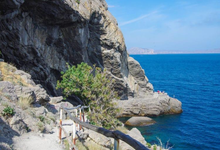 Тропа Голицына - достопримечательности Крыма