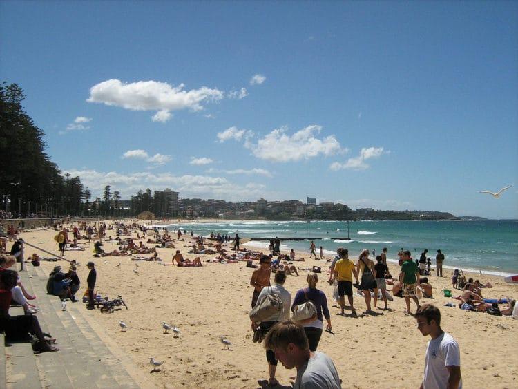 Пляж Мэнли - достопримечательности Сиднея