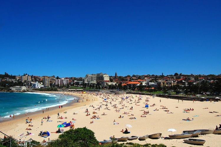 Пляж Куджи и залив Лурлайн - достопримечательности Сиднея
