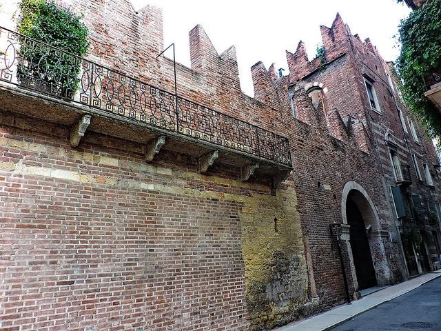 Дом Ромео - достопримечательности Вероны