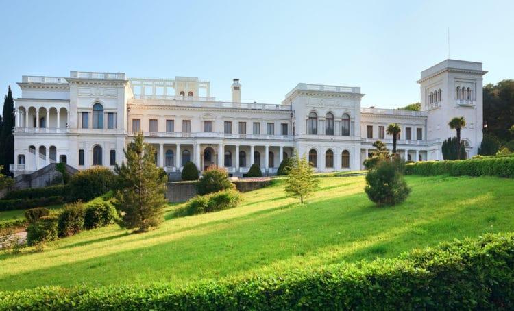 Ливадийский дворец - достопримечательности Крыма