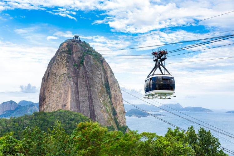 Сахарная голова - достопримечательности Рио-де Жанейро