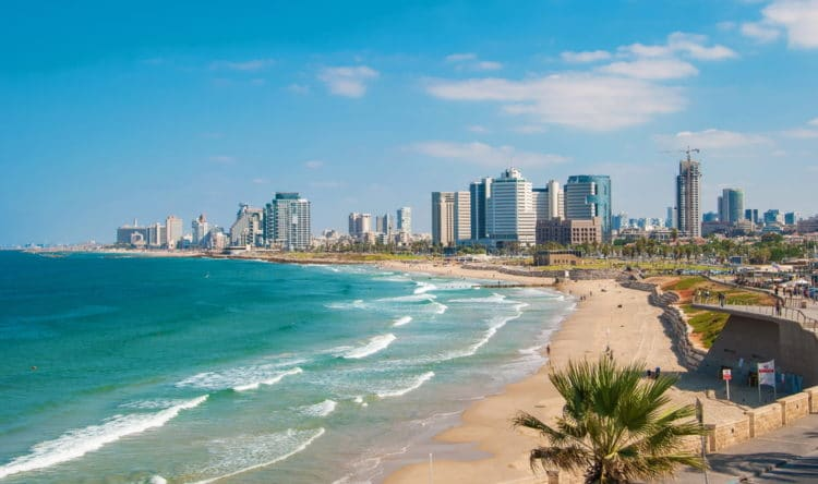 Пляжи Тель-Авива - Что посмотреть в Тель-Авиве