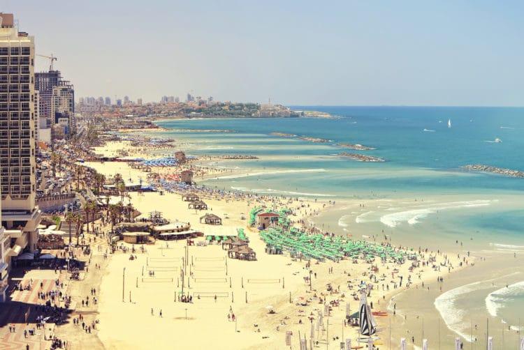 Пляжи Тель-Авива - достопримечательности Тель-Авива