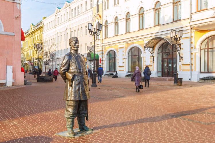 Улица Большая Покровская - достопримечательности Нижнего Новгорода