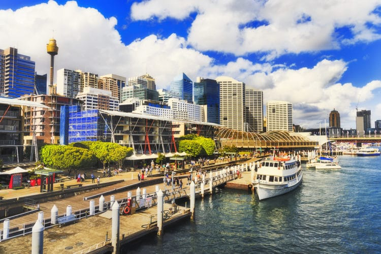 Район Дарлинг Харбор - достопримечательности Сиднея