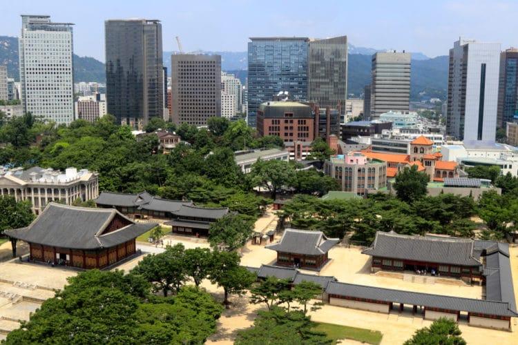 Дворец Токсугун - достопримечательности Сеула