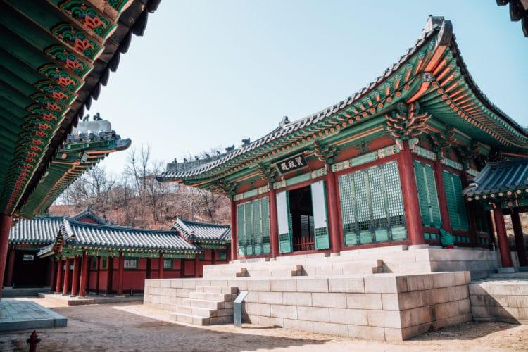 Дворец Кёнхигун - достопримечательности Сеула